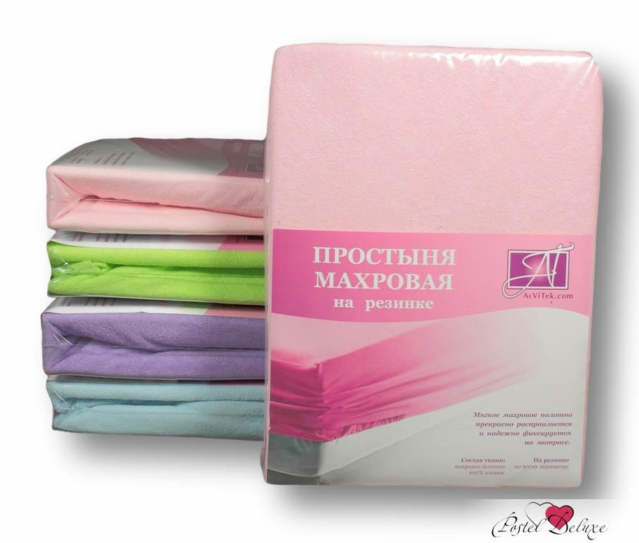 Простыни AlViTek Простыня на резинке Abegail Цвет: Розовый (140х200 см)
