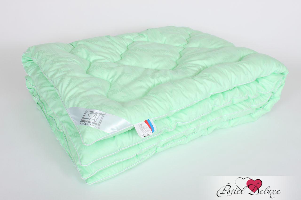 Одеяла AlViTek Одеяло Бамбук-Люкс Легкое (172х205 см) одеяло теплое легкие сны бамбук наполнитель бамбуковое волокно 172 х 205 см