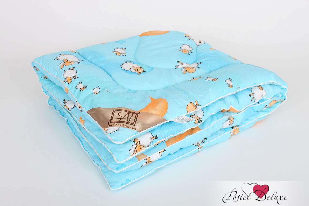 Детские покрывала, подушки, одеяла AlViTek Детское одеяло Овечка Теплое (110х140 см)