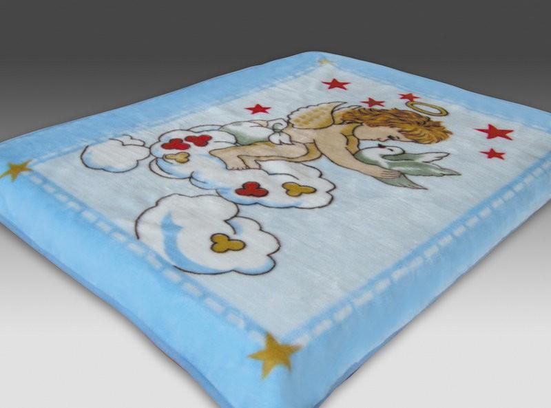 где купить Детские покрывала, подушки, одеяла Tamerlan Детский плед Cecilia (110х140 см) по лучшей цене