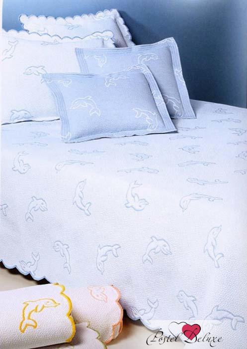 Детские покрывала, подушки, одеяла Antonio Salgado Покрывало Golfinhos Цвет: Голубой (160х220 см)