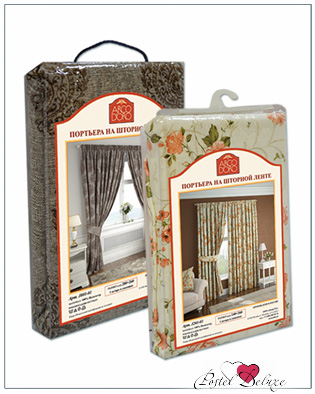 Шторы ARCODORO Классические шторы Пышные Пионы Цвет: Бежевый шторы tac классические шторы winx цвет персиковый 200x265 см