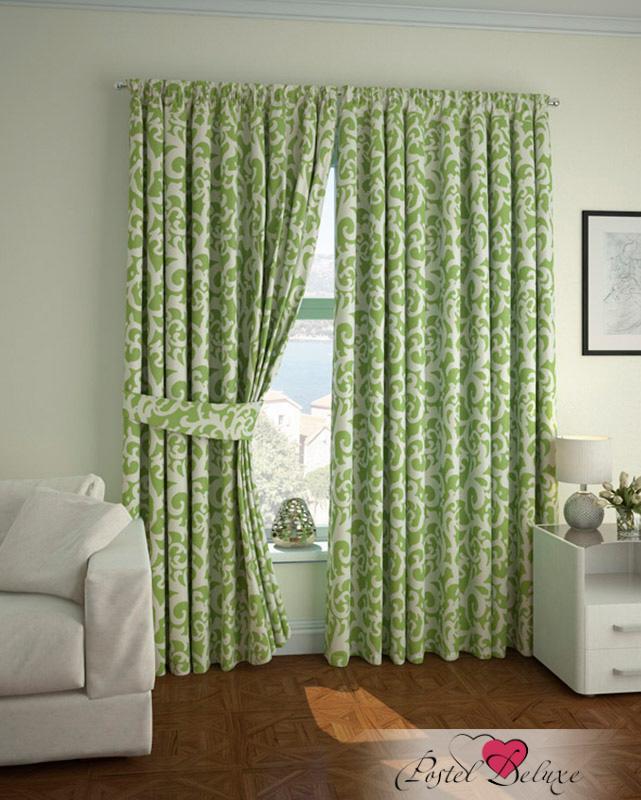 Шторы ARCODORO Классические шторы Яркая Сказка Цвет: Зеленый шторы tac классические шторы winx цвет персиковый 200x265 см
