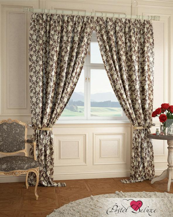 Шторы ARCODORO Классические шторы Вензеля Цвет: Коричневый шторы tac классические шторы winx цвет персиковый 200x265 см