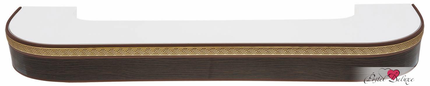 Карнизы и аксессуары для штор ARCODORO Карниз Греция Цвет: Венге (300 см) радиобудильник rolsen rfm 300 венге 1 rldb rfm 300
