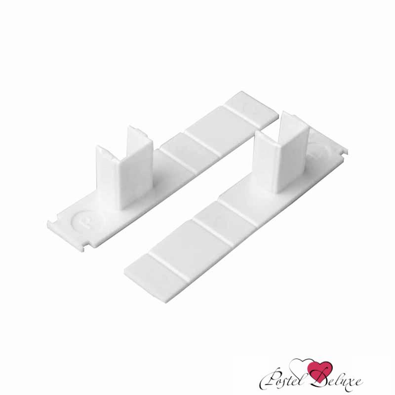 Карнизы и аксессуары для штор ARCODORO Торцевая заглушка для 1-рядной шины Цвет: Белый шины