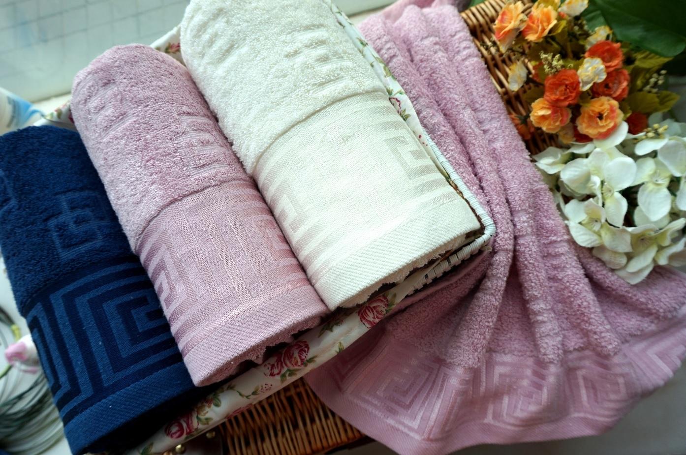 Полотенца Василиса Полотенце Ариадна Цвет: Розовый (50х90 см)