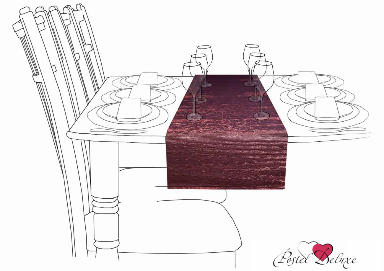 {} Arloni Дорожка на стол Фест Цвет: Бронзовый (33х140 см)