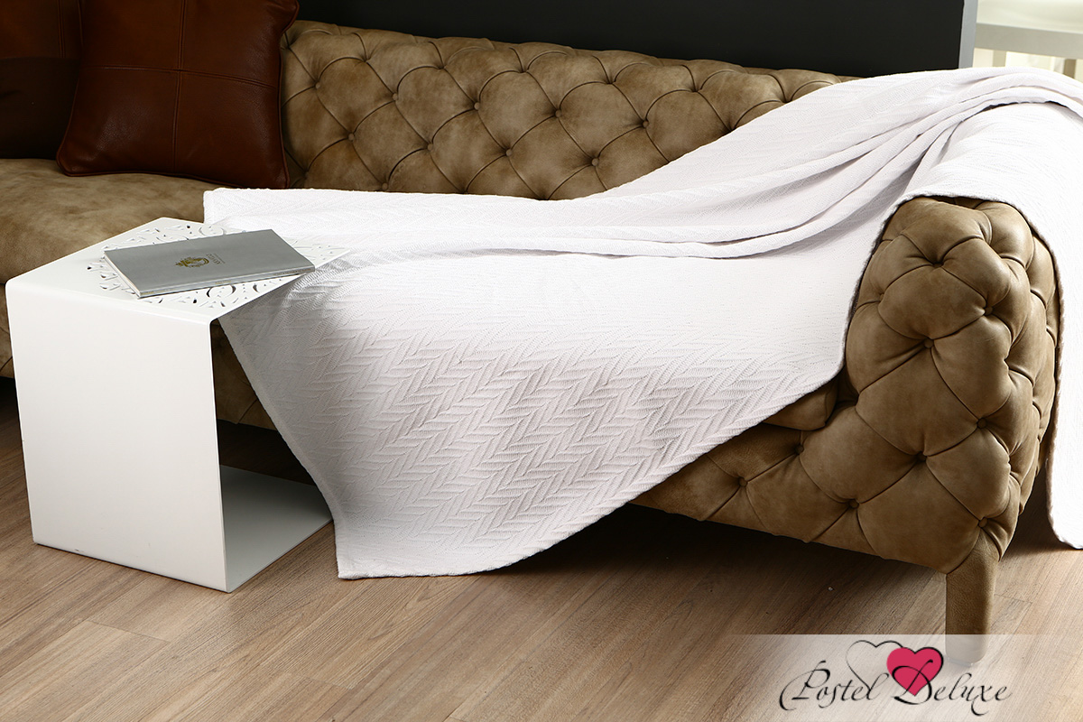 Покрывало Arloni Покрывало Этника Цвет: Белый (130х160 см)