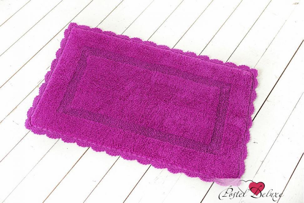 Аксессуары для ванной и туалета Arloni Коврик для ванной Лейс Цвет: Малиновый (50х80 см) коврик для ванной арти м 50х80 см розанна