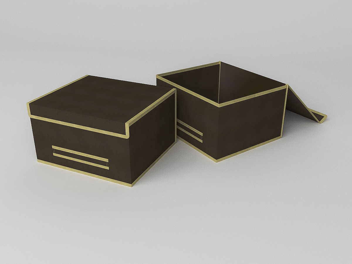{} CoFreT Кофр для хранения Классик Цвет: Коричневый (20х30х35 см)