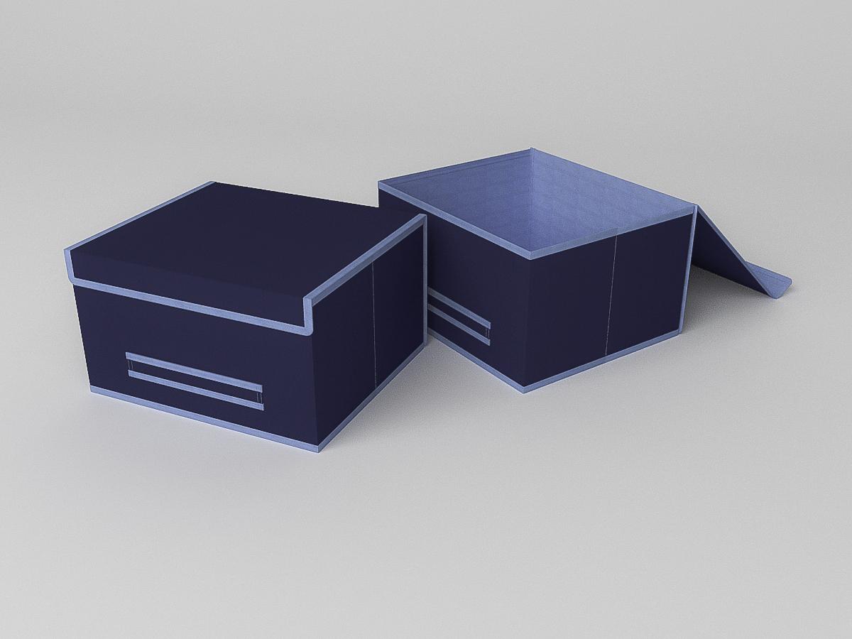 {} CoFreT Кофр для хранения Классик Цвет: Синий (20х30х35 см)