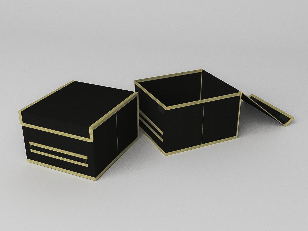 {} CoFreT Кофр для хранения Классик Цвет: Черный (17х25х27 см)