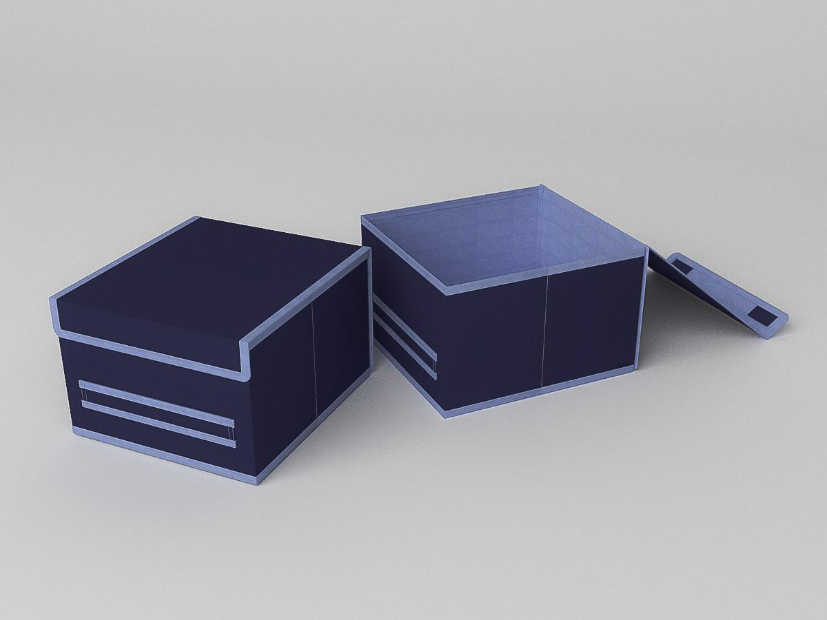 {} CoFreT Кофр для хранения Классик Цвет: Синий (17х25х27 см) фонарь maglite 2d синий 25 см в картонной коробке 947191