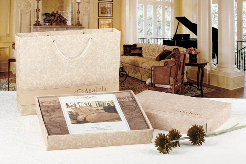 где купить Постельное белье Asabella Постельное белье Magnolia (2 сп. евро) по лучшей цене