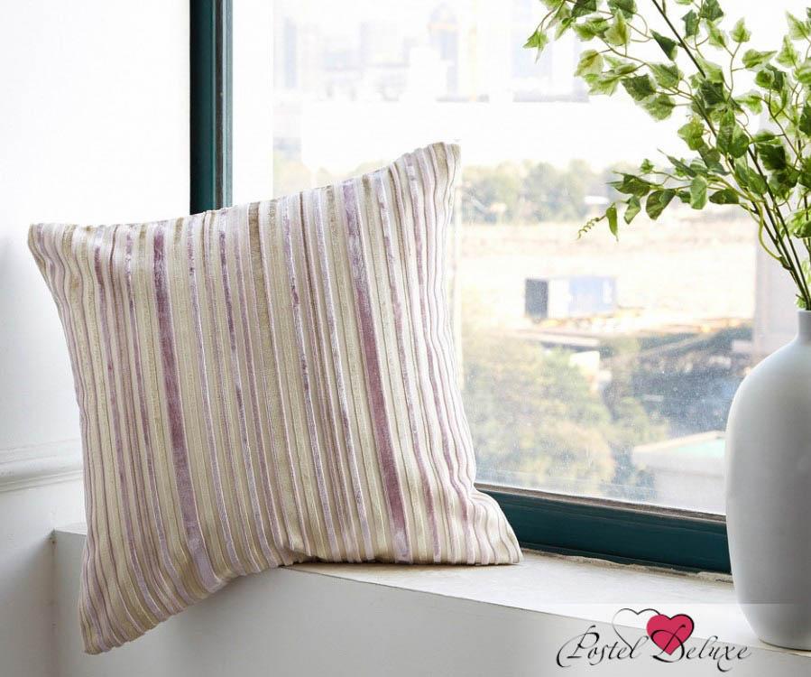 Декоративные подушки Asabella Декоративная наволочка Caterpillar Цвет: Бежево-Сиреневый (43х43)