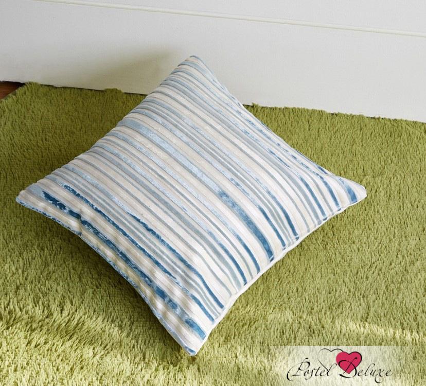 где купить Декоративные подушки Asabella Декоративная подушка Caterpillar Цвет: Бело-Голубой (43х43 ) по лучшей цене