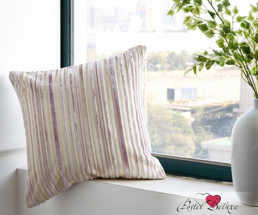 где купить Декоративные подушки Asabella Декоративная подушка Caterpillar Цвет: Бежево-Сиреневый (43х43 ) по лучшей цене