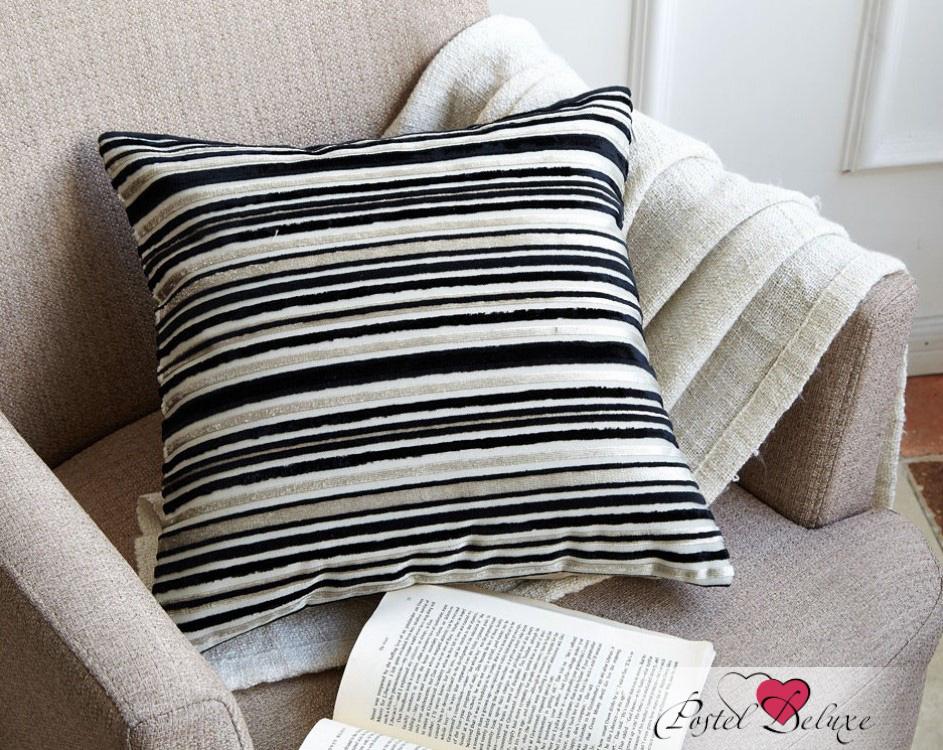 Декоративные подушки Asabella Декоративная подушка Caterpillar Цвет: Чёрный С Серо-Бежевым (43х43 )