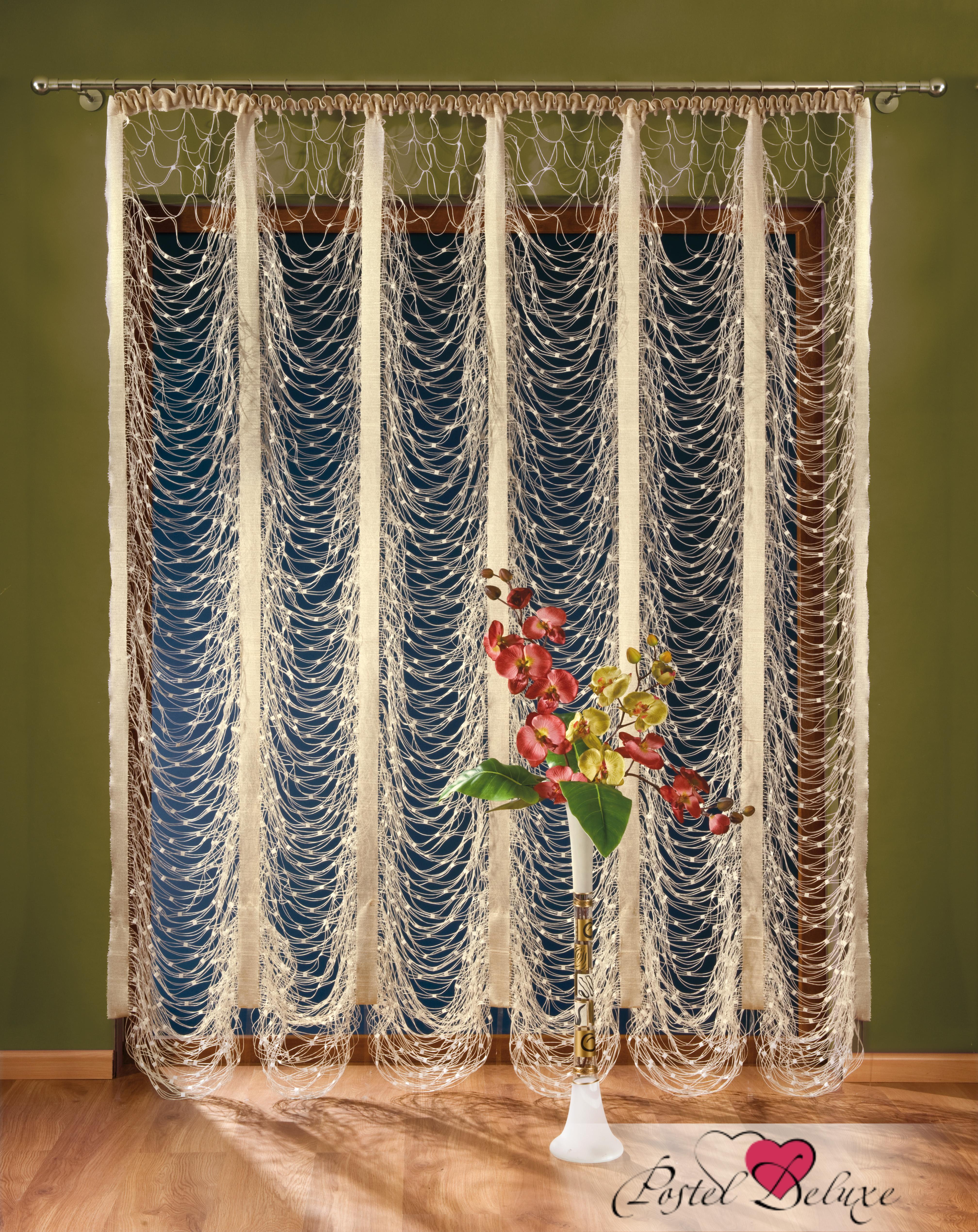 Шторы Wisan Нитяные шторы Цвет: Кремовый, Белый wisan wisan классические шторы melicent цвет кремовый
