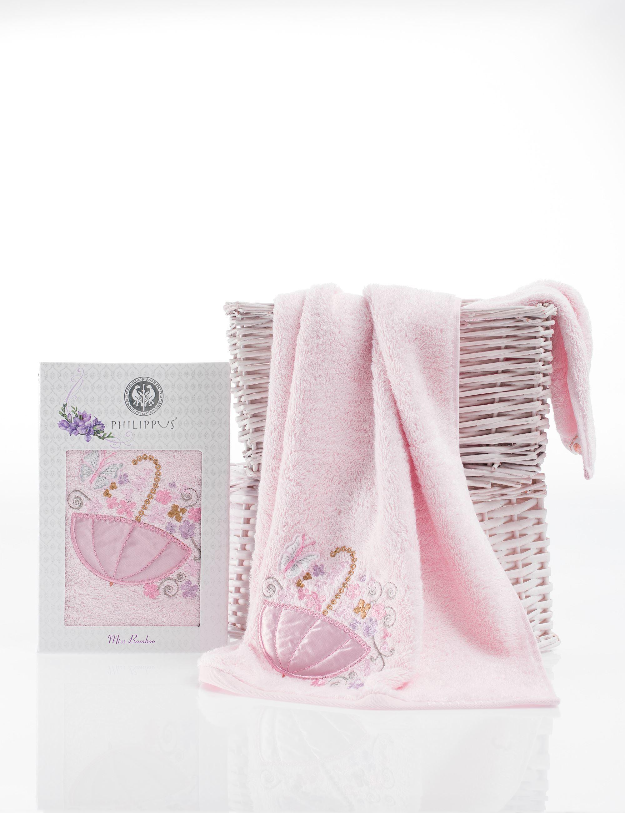 Полотенца Philippus Полотенце Victoria Цвет: Светло-Розовый (50х90 см) полотенца philippus полотенце laura 50х90 см 6 шт