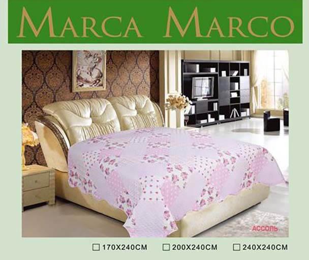Покрывало MАRCA MARCO Покрывало Ассоль (170х240 см) dorothy s нome покрывало принт мурманск 2 сп 170х240 микрофибра стежка