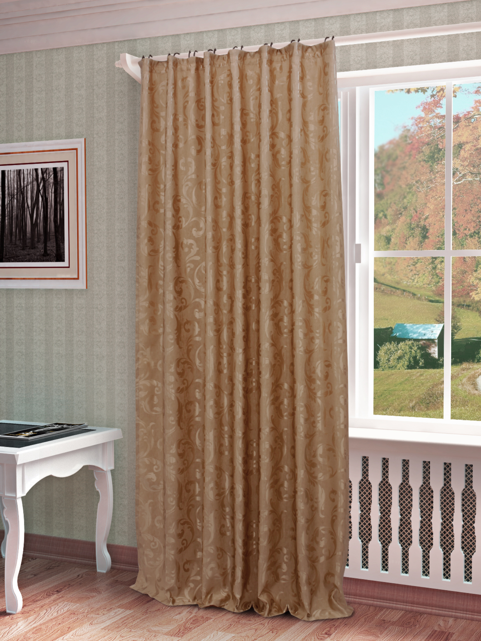 Шторы Sanpa Классические шторы Аурелия Цвет: Бежевый шторы primavera классические шторы maev цвет персиковый