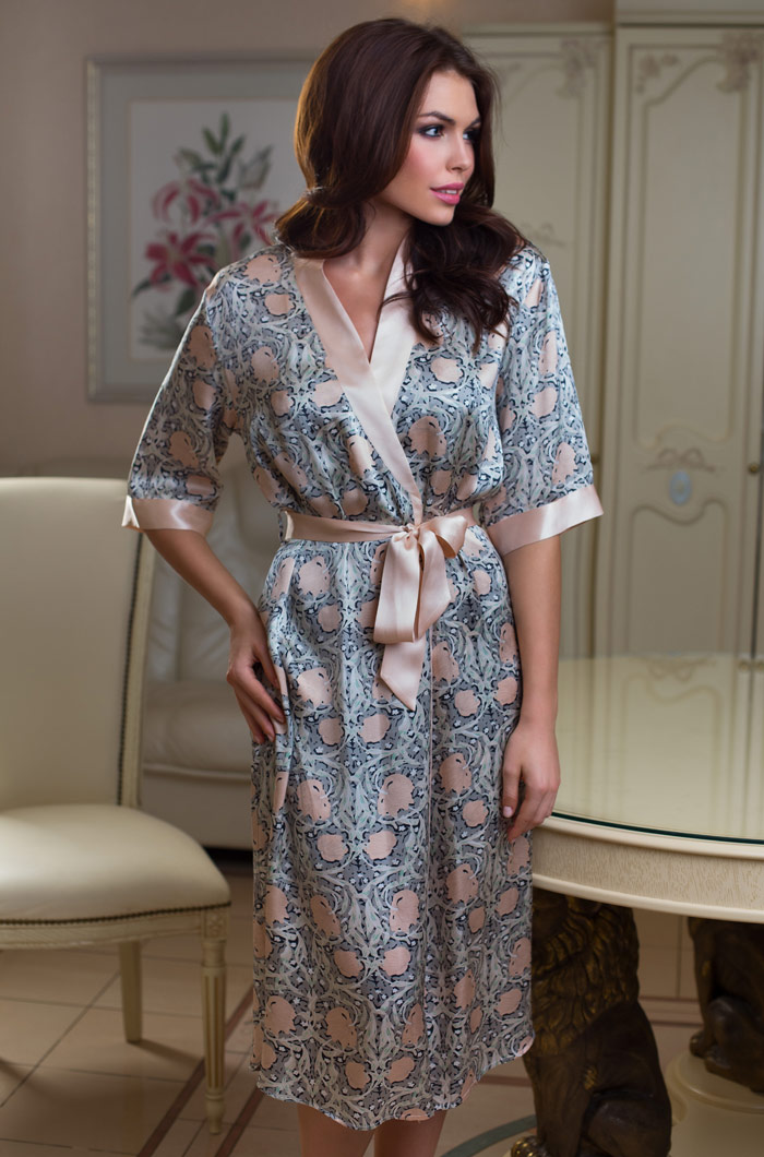 Домашние халаты Mia-Mia Домашний халат Diora (S) домашние халаты mia mia домашний халат yesenia xl