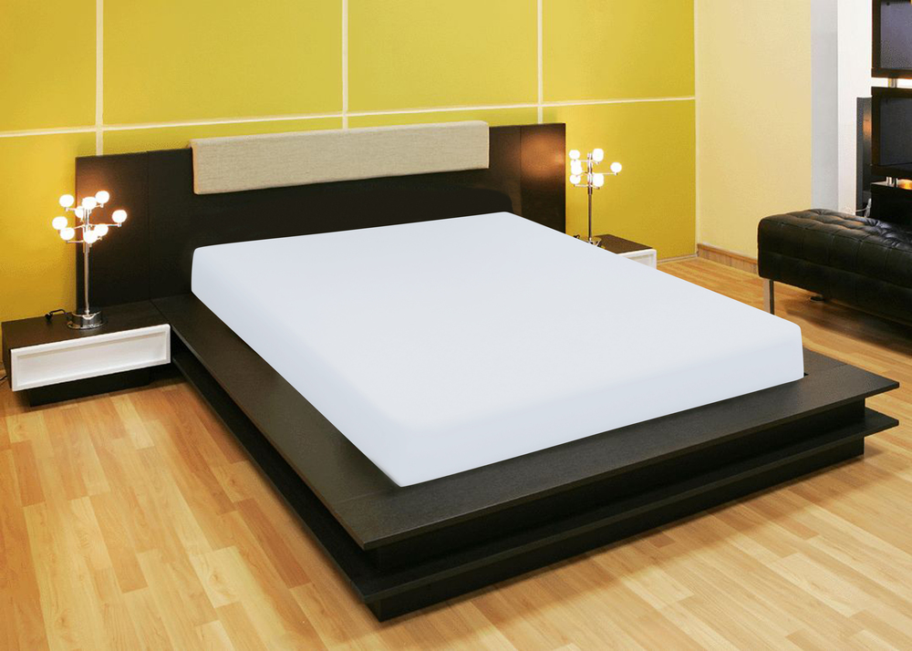 Простыни Amore Mio Простыня на резинке Quiet Цвет: Белый (140х200) простыни candide простыня bamboo fitted sheet 130г м2 60x120 см