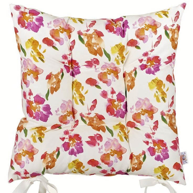 Подушки на стул Apolena Подушка на стул Цветочный Рай (43х43)