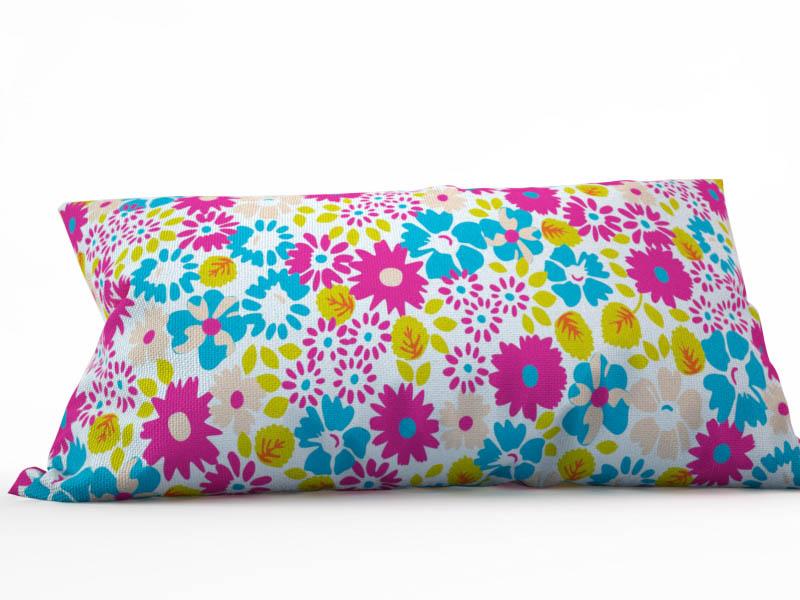 где купить Декоративные подушки StickButik Декоративная подушка Цветочная Россыпь (25х45) по лучшей цене