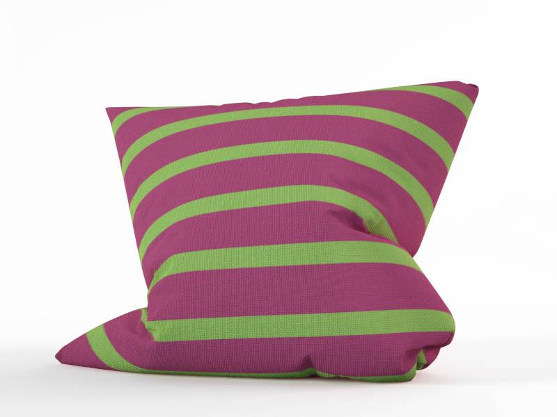 Декоративные подушки StickButik Декоративная подушка Нежные Полосы (45х45)