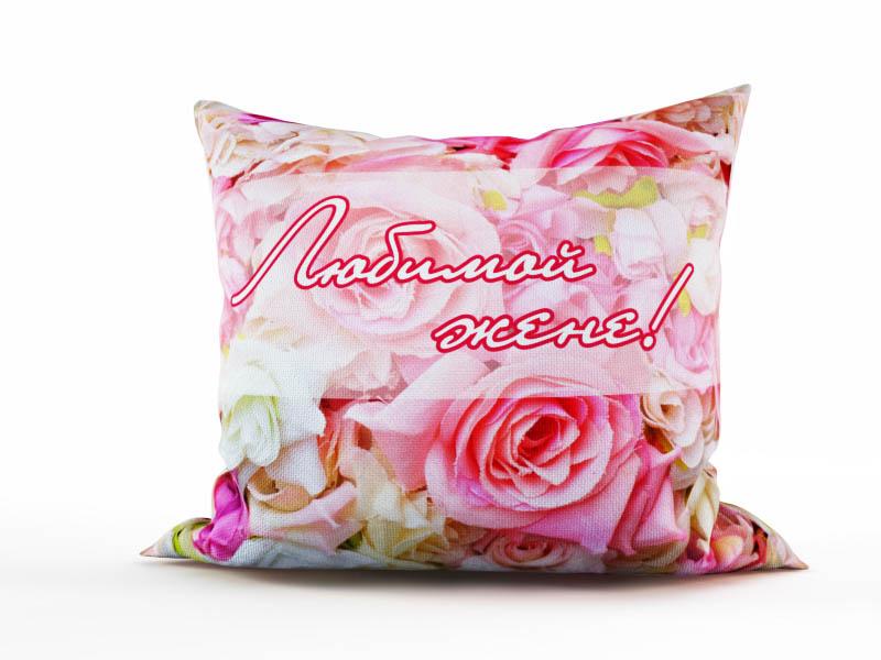 Декоративные подушки StickButik Декоративная подушка Любимой Жене (45х45) круговова ю ред любимой жене маленькие секреты большого счастья