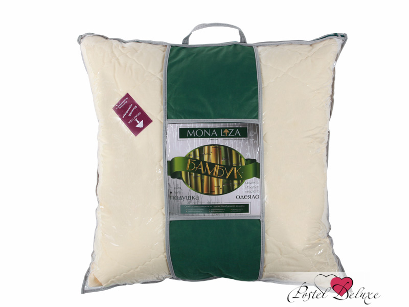 Подушки Mona Liza Подушка Бамбук (70х70) подушка wendre tencel comfort 70х70 тэнсель 30% полиэстер 70%