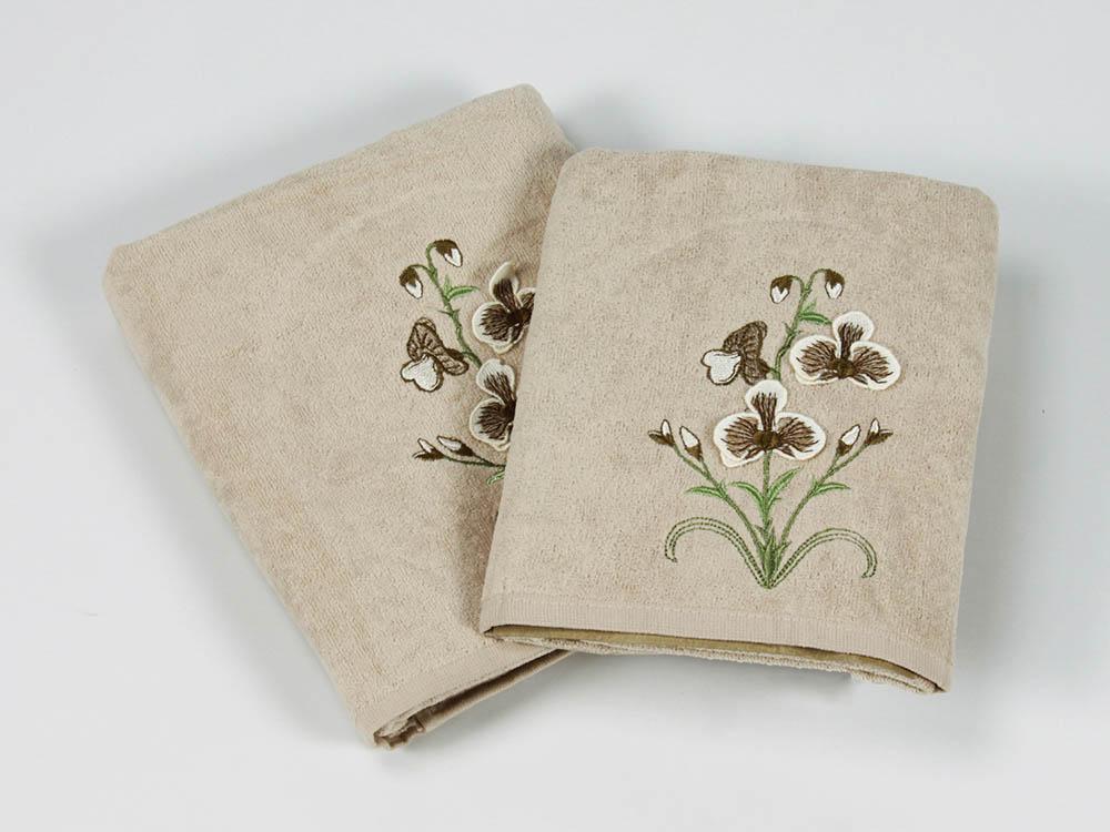 Полотенца Cottonist Полотенце 3D Kadife (Набор)