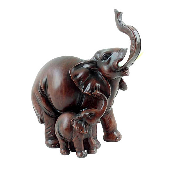 {} ArtHouse Фигурка Слониха Со Слоненком (21,5х12х21,5 см) слониха лялька