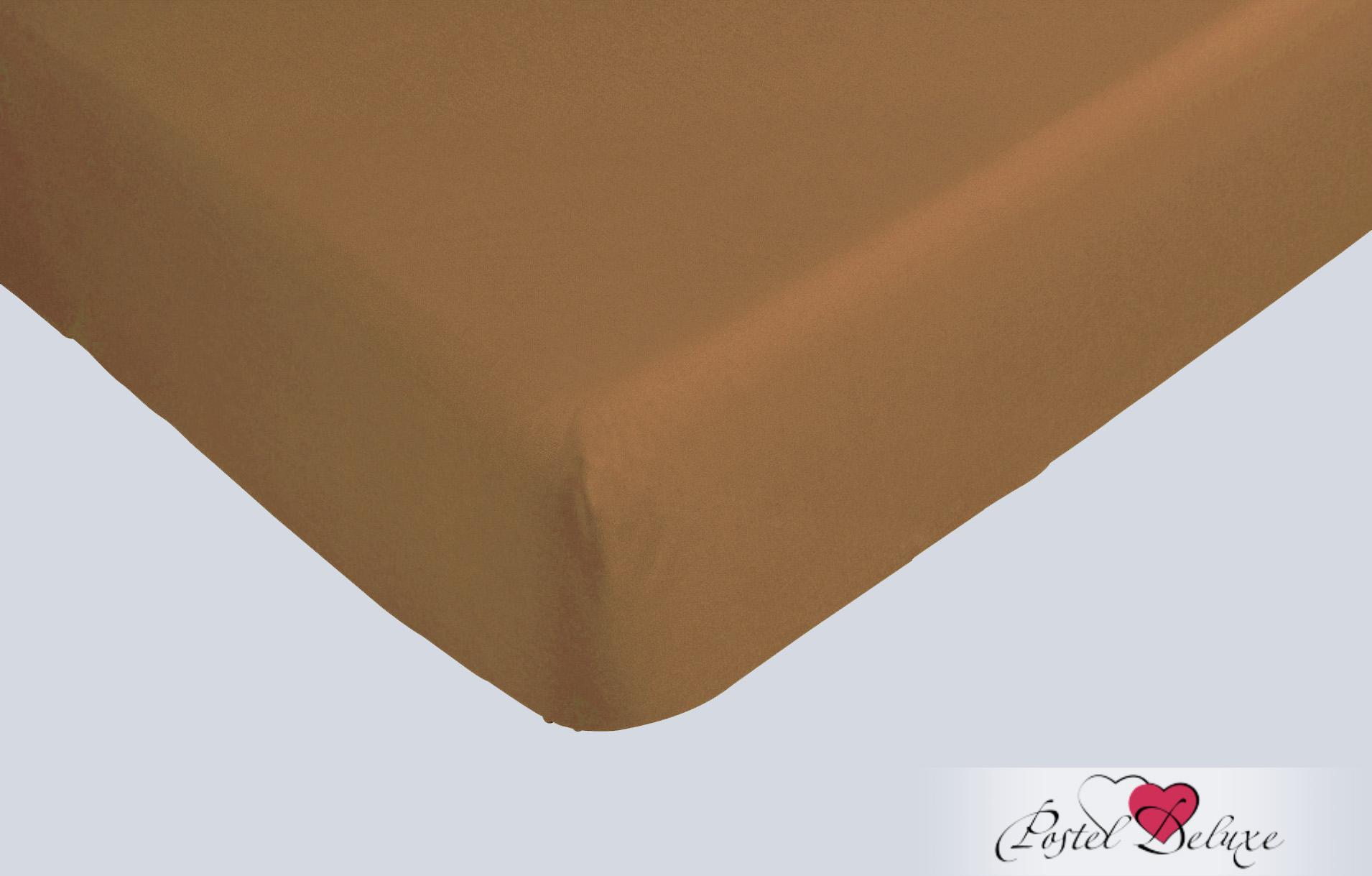 Простыни Bolero Простыня на резинкеЦвет: Темно-Коричневый (160х200 см)