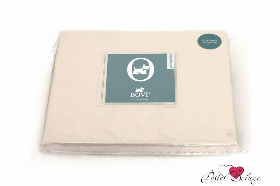 Простыни BOVI Простыня на резинке Selby Цвет: Песочный (180х200) текстиль для дома