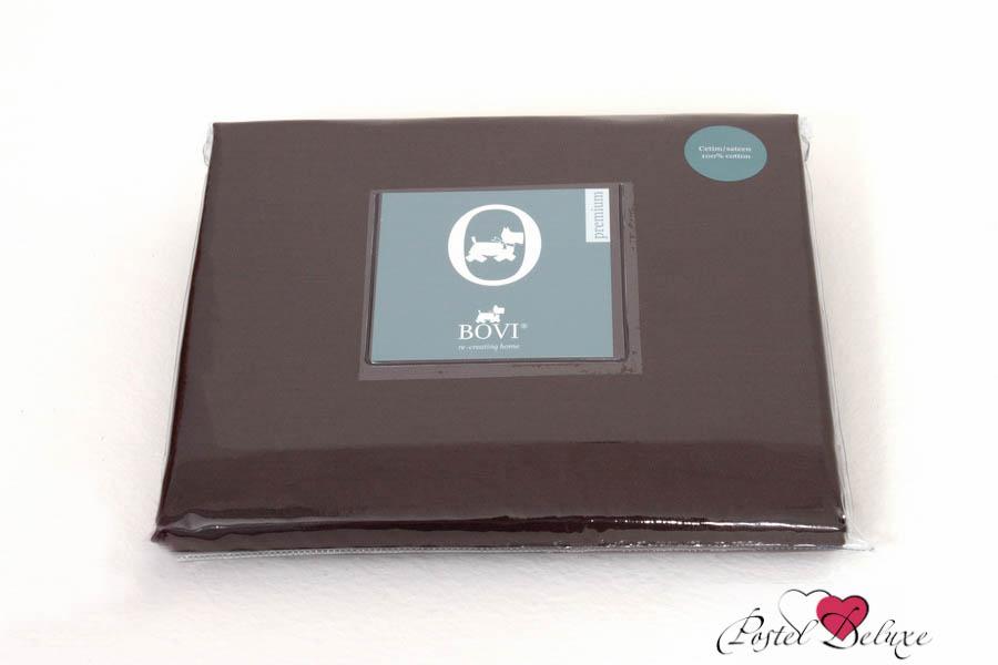 Простыни BOVI Простыня на резинке Selby Цвет: Шоколад (140х200)