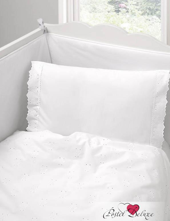 Детское постельное белье и комлекты BOVI Чехол для бампера Мишутки Цвет: Белый бампера на приору в ростове