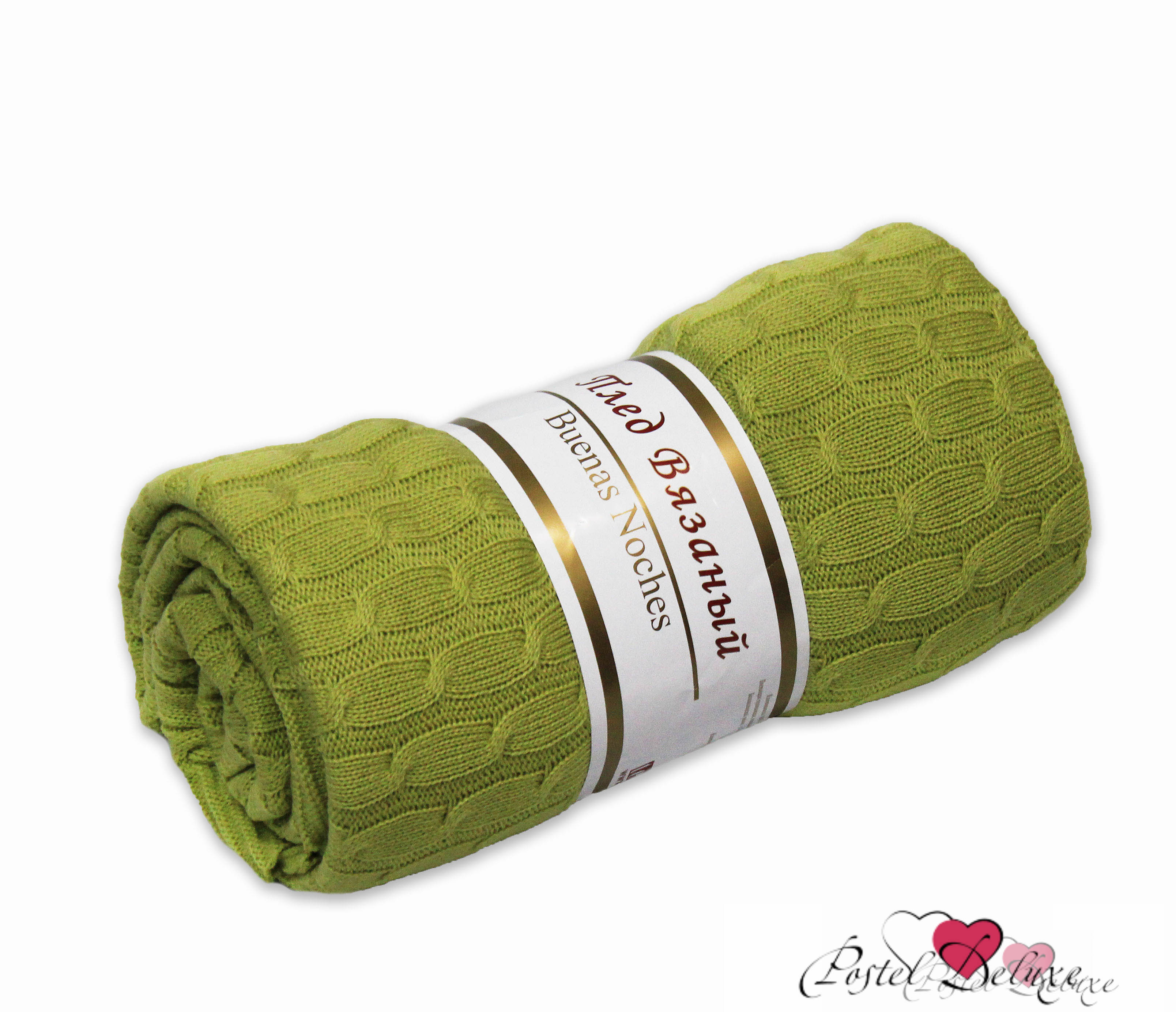 Плед Buenas Noches Плед Albertine Цвет: Зеленый (180х200 см) плед buenas noches плед albertine цвет молочный 180х200 см
