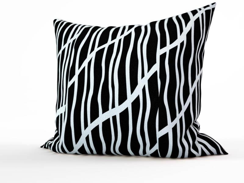 Декоративные подушки StickButik Декоративная подушка Монохромный Лес (45х45)
