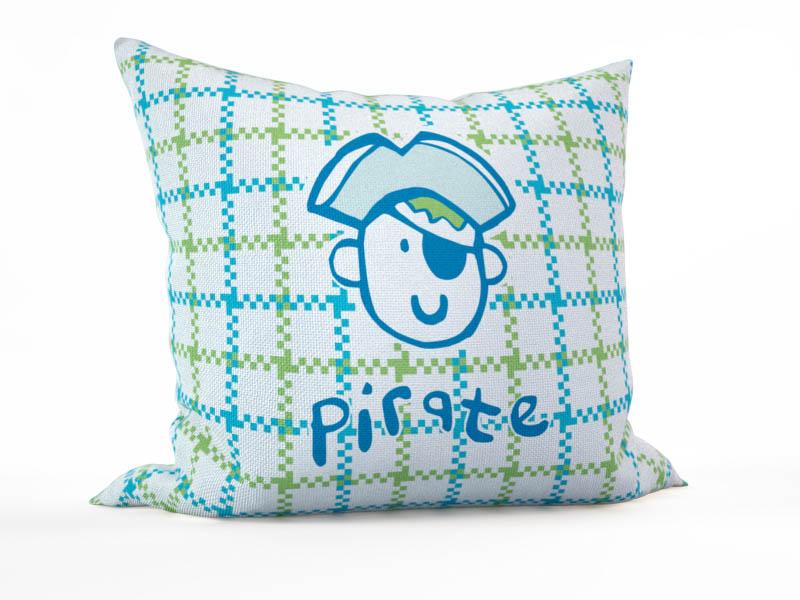 где купить Декоративные подушки StickButik Декоративная подушка Маленький Пират (45х45) по лучшей цене