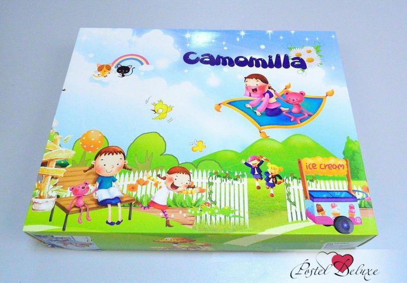 Детское Постельное белье Camomilla Постельное белье Маша и Медведь (150х210 см) лонгслив camomilla italia camomilla italia ca097ewymp58