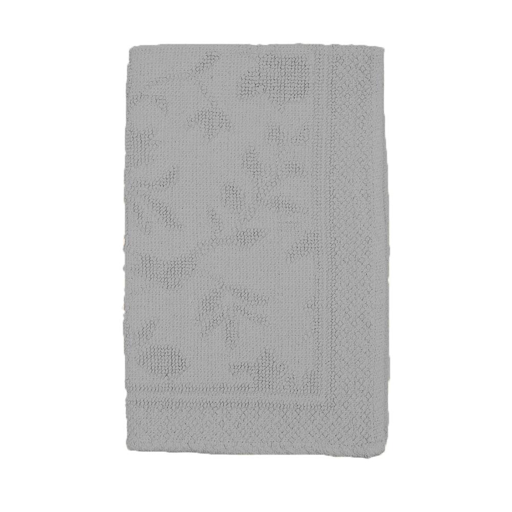 Аксессуары для ванной и туалета Arloni Коврик для ванной Кармен Цвет: Серебро (50х80 см) коврик для ванной арти м 50х80 см розанна