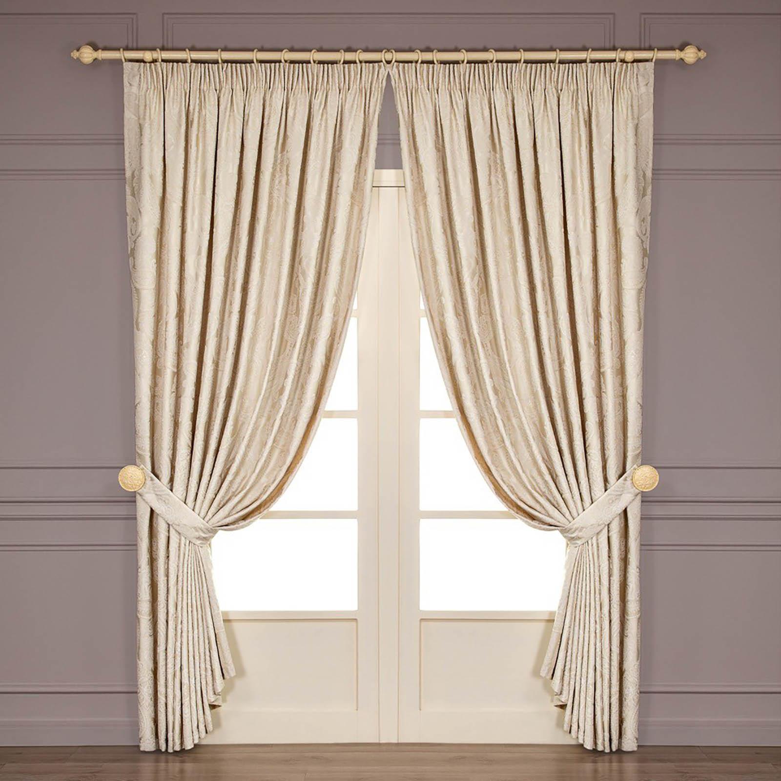 Шторы Togas Классические шторы Катрин Цвет: Экрю шторы tac классические шторы winx цвет персиковый 200x265 см