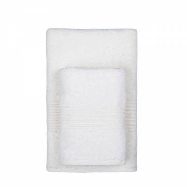 где купить Полотенца TAC Полотенце Nessie Цвет: Кремовый (50х90 см) по лучшей цене