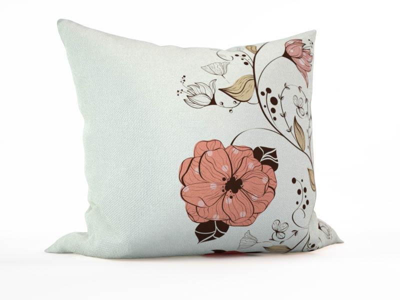 где купить Декоративные подушки StickButik Декоративная подушка Пастельные Цветы (45х45) по лучшей цене