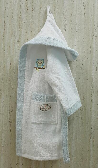 Детские халаты Volenka Детский халат Совёнок (6-8 лет) купить шелковый халат мужской спб