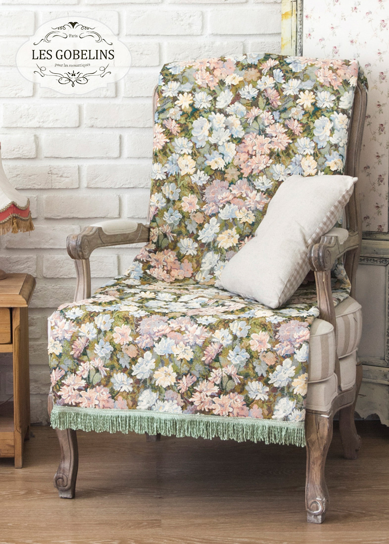 Покрывало Les Gobelins Накидка на кресло Nectar De La Fleur (90х170 см) купить samsung s5230 la fleur red
